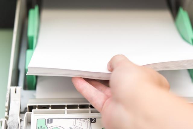 業務用のプリンターで気をつけたい紙詰まり